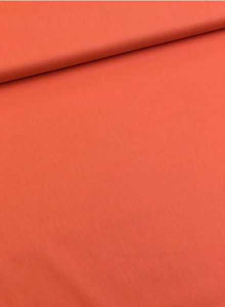 solid cotton orange