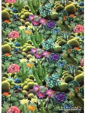 tricot - cactus digital printed