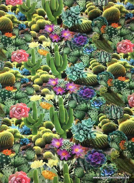 jersey - cactus digital printed