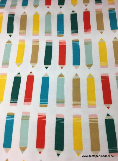 interlock - colored pencils