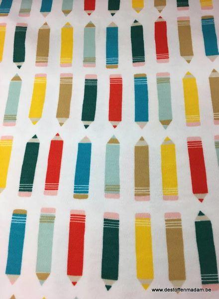 interlock - gekleurde potloden
