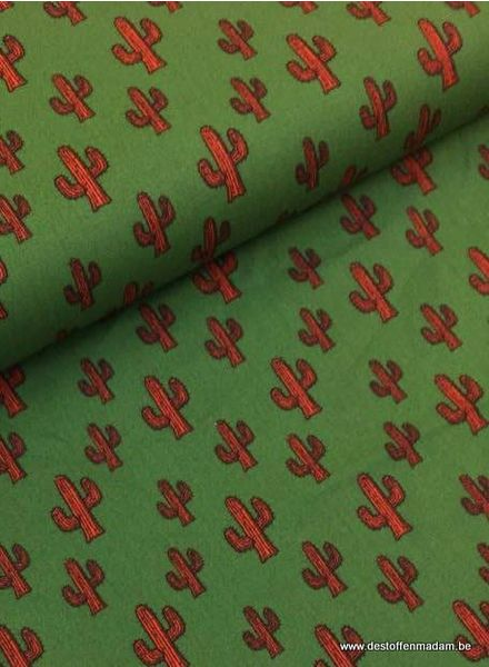 cotton - cactus green