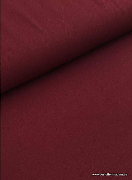burgundy stretch crepe