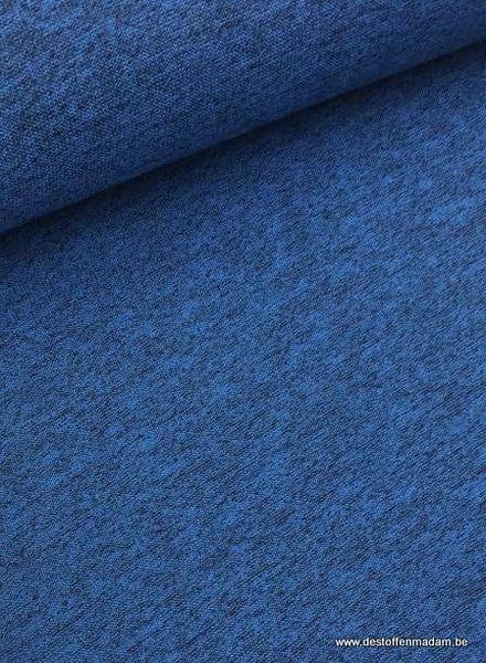 blauwe omkeerbare winterviscose