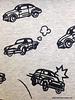 sweat - flocked cars