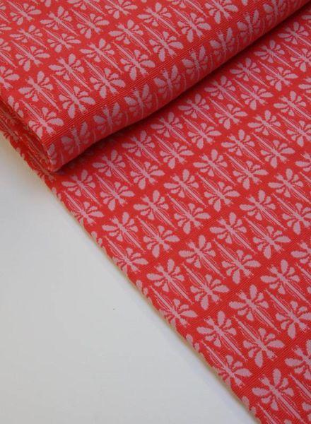 textured knit - coral libella
