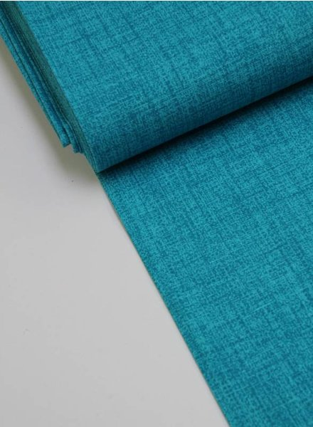 deco fabric - turquoise sketch