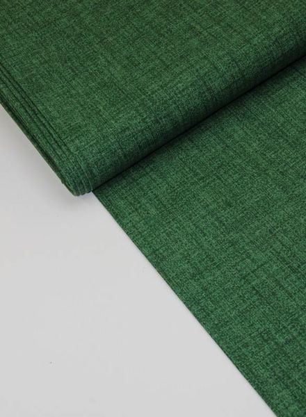 deco fabric - dark green sketch