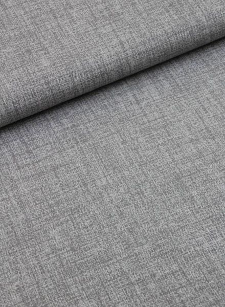 deco fabric- grey sketch