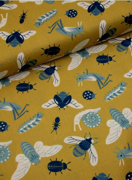 cotton - bugs gold