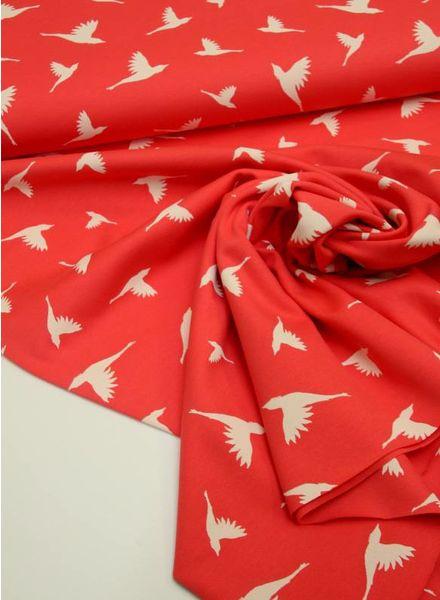 interlock  - birds coral