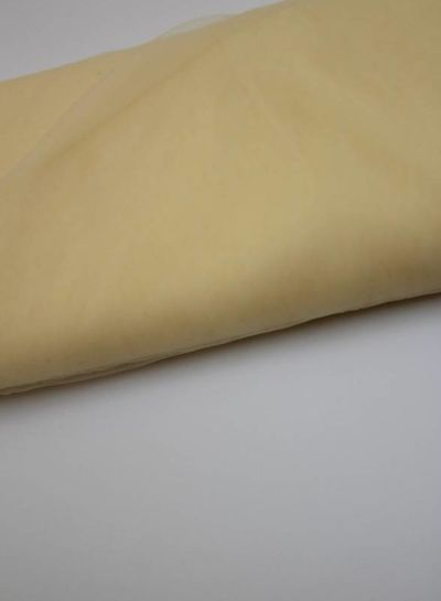 tule gebroken wit/geel