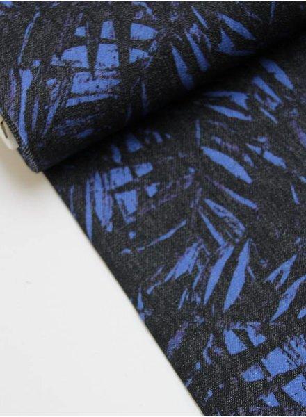LMV - fern stretch cotton blue