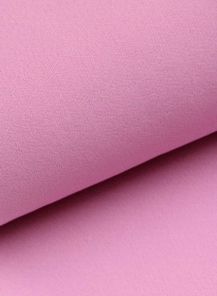 stretch crepe - pink