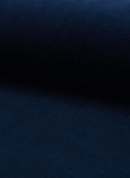 nicky velours marineblauw