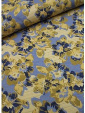 geweven jacquard - Martin's flowers
