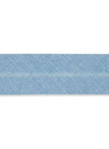 greyish blue mêlee binding