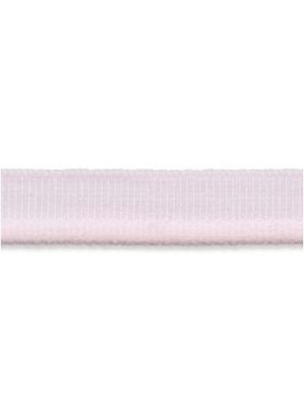 roze elastische paspel mat