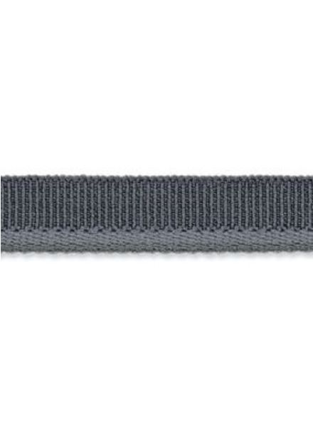 elastic piping grey matt