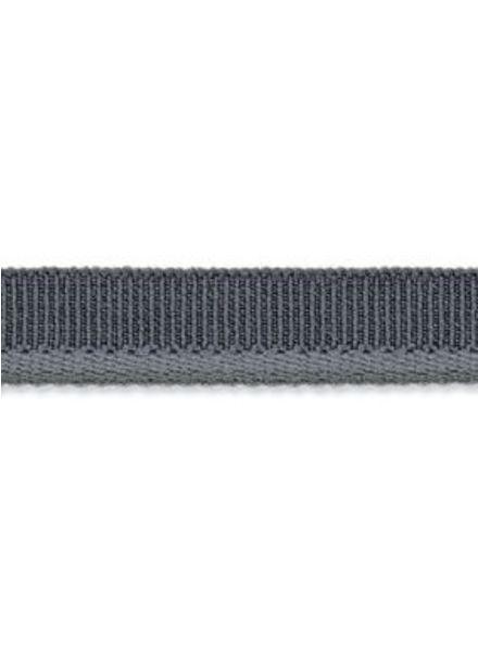 grijze elastische paspel mat