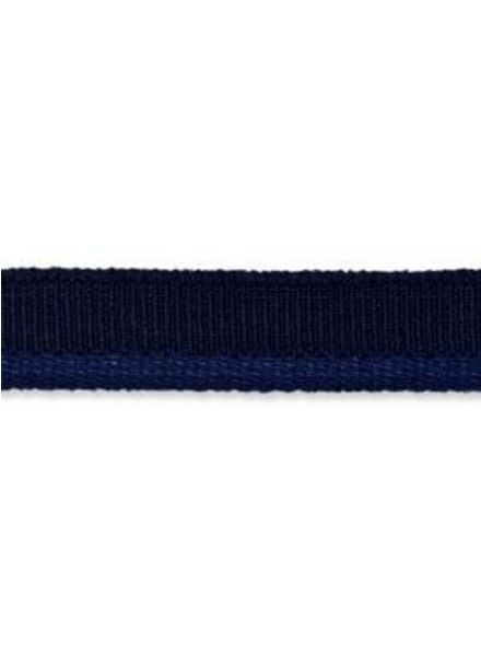 elastic piping marine blue matt