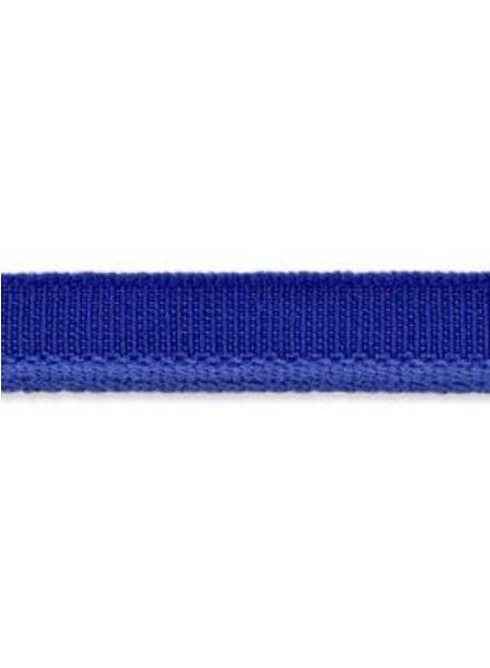 kobalt elastische paspel mat