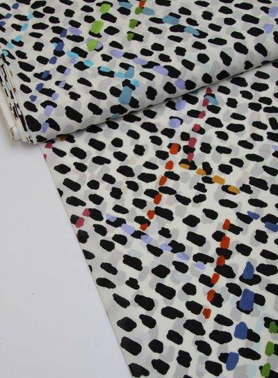 colored spots viscose