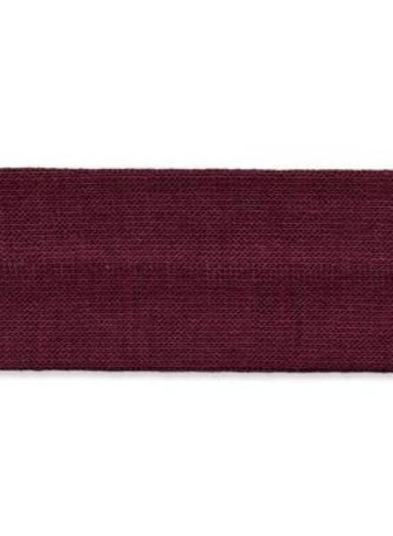stretch binding burgundy