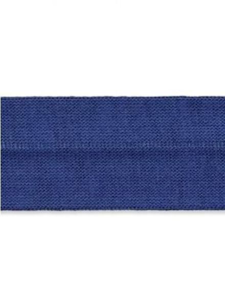 jeansblauwe biais tricot