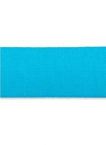 stretch binding aqua blue