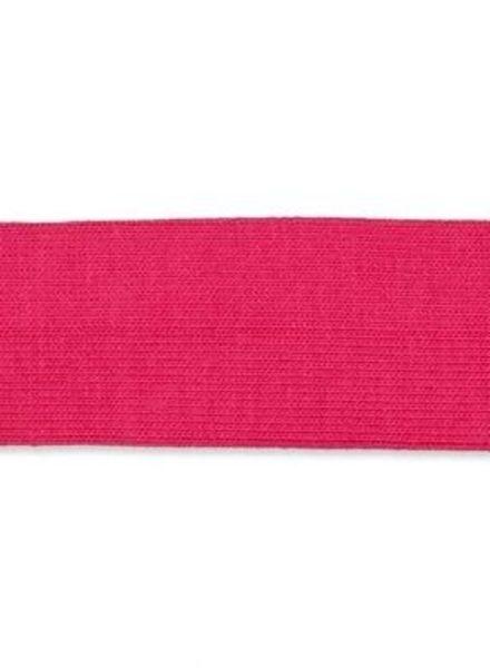 fuchsia biais tricot
