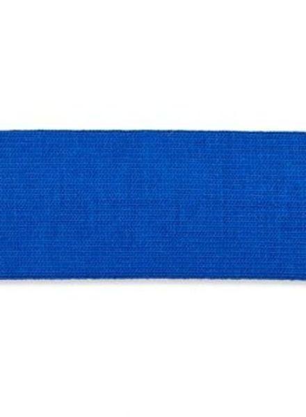 stretch binding cobalt blue