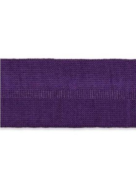 stretch binding dark purple