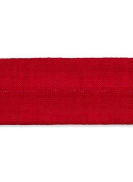 kersenrode biais tricot
