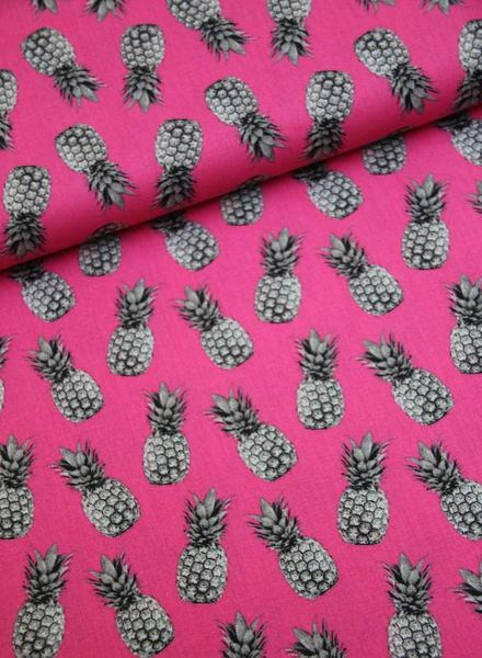 cotton - pineapple pink
