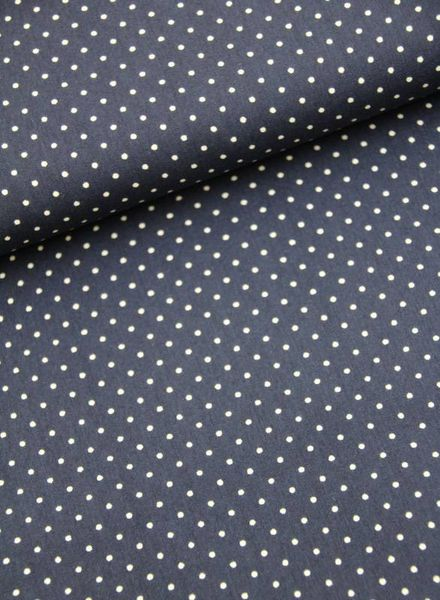 cotton - polkadots navy