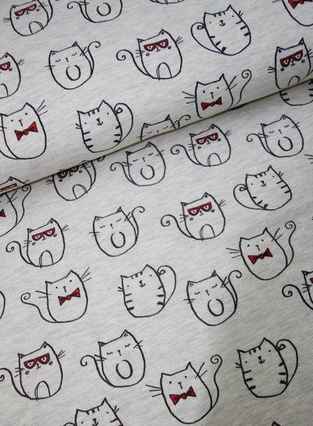 sweat fabric - mr. cat
