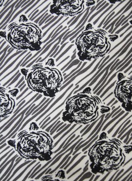 sweat fabric - tiger roar