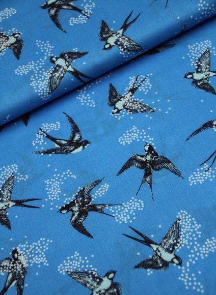 viscose - blue swallow