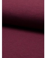 sweater melange - burgundy
