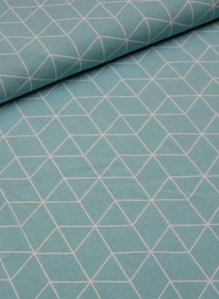 deco fabric - geometric pattern