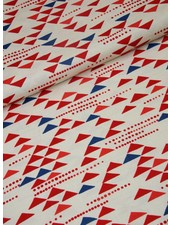 cotton  -  blue and red triangles