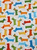 cotton - zoologie colorful dogs