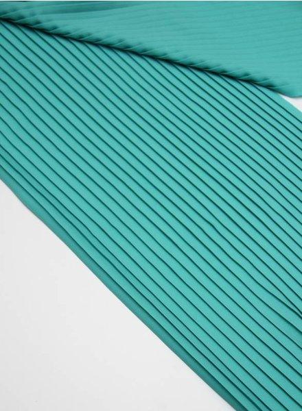 plissé - turquoise