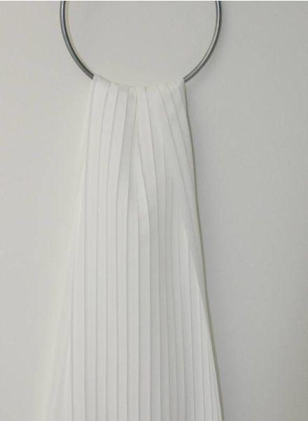 plissé - white