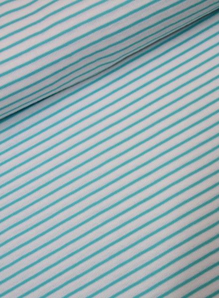 gebreide tricot - turquoise aino
