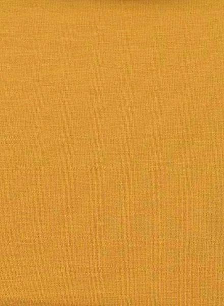 ocher jersey solid