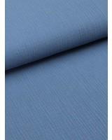 tetra stof - denim blauw