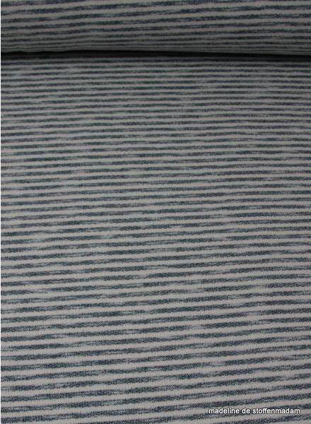Swafing denimblue striped sweat