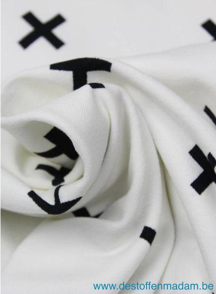 kruisjes tricot